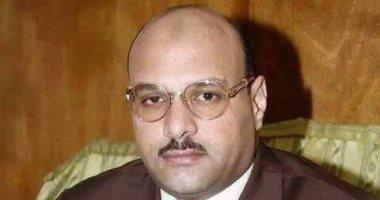 النائب إبراهيم حمودة يكرم أسر الشهداء بختام مؤتمر دعم السيسي بالحوامدية