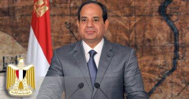 الرئيس السيسى يستقبل بعثة منتخب مصر بمطار القاهرة فور عودتها من الجابون