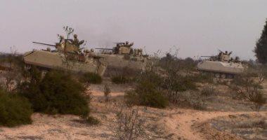 مقتل 8 إرهابيين فى عمليات أمنية بشمال سيناء