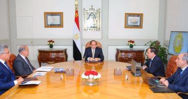 السيسي يوجه بتحويل مصر إلى مركز إقليمى لتجارة وتداول البترول والغاز