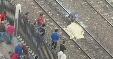 مصرع طالب تحت عجلات القطار فى كوم حمادة بالبحيرة