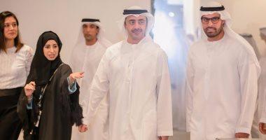 وزير خارجية الإمارات يبحث مع نظيره القبرصى سبل تعزيز علاقات التعاون المشترك