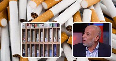 إبراهيم إمبابى رئيس شعبة الدخان والسجائر باتحاد الصناعات