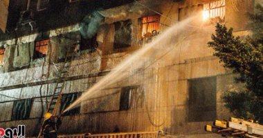 السيطرة على حريق بمخبز بمدينة فوه فى كفر الشيخ