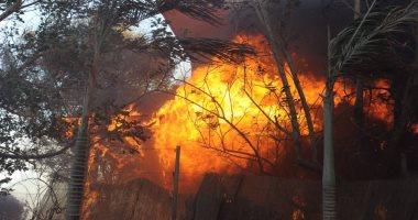 بالصور.. حرائق هائلة إسرائيل وفرق الإطفاء تفشل إخمادها