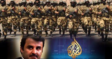 """""""سكاى نيوز"""" تنشر تقريرا يرصد 6 أعوام من تآمر  قطر على الجيش المصرى"""