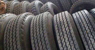 شرطة التموين تضبط 522 إطار سيارة مجهول المصدر فى مدينة نصر والظاهر