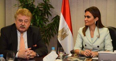 وزيرة التعاون لوفد البرلمان الأوروبى: المشروعات التنموية توفر فرص عمل للشباب