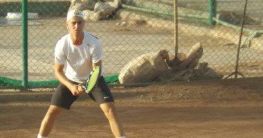 كريم حسام يودع منافسات البطولة الدولية للتنس