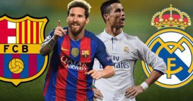 موعد مباراة الكلاسيكو بين برشلونة وريال مدريد الليلة على أون سبورت