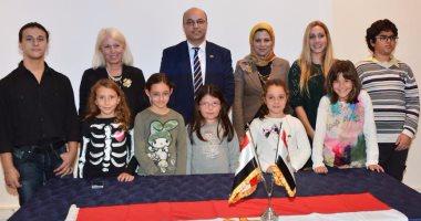 """""""الثقافى المصرى"""" بأثينا ينظم معرض """"مصر القديمة"""" لرسوم الأطفال"""