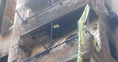 النيابة تنتدب المعمل الجنائى لمعاينة حريق اندلع فى شقة بشبرا