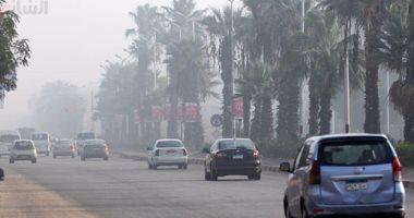فتح طريق إسكندرية الصحراوى بعد زوال الشبورة وانتظام حركة السيارات