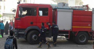 السيطرة على حريق نشب داخل مطعم بالأزبكية دون إصابات