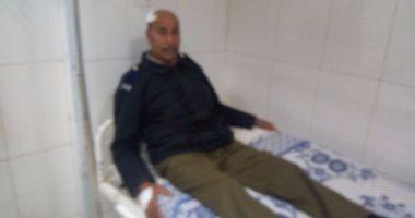المصابون يروون تفاصيل انفجار سيارة شرطة فى كفر الشيخ