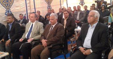 افتتاح المرحلة الأولى من مشروع كهربة خط قطارات القاهرة ـ الإسكندرية