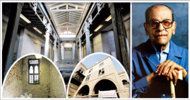 شاهد بهو متحف نجيب محفوظ استعدادًا لافتتاحه