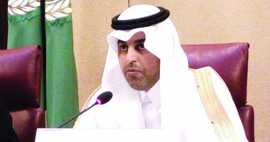 """رئيس البرلمان العربى: استهداف ميليشيا الحوثي لمطار """"أبها"""" جريمة حرب"""