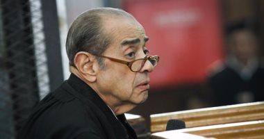"""""""النقض"""" ترفع جلسة إعادة محاكمة مبارك فى"""" قتل المتظاهرين"""" للمداولة"""
