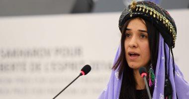 نادية مراد تعلن استخدام قيمة جائزة نوبل للسلام فى بناء مستشفى فى العراق