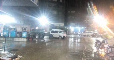 سقوط أمطار على سواحل شمال سيناء والمحافظة تعلن حالة الاستنفار