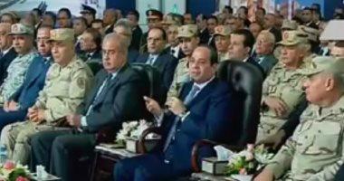 تفاصيل مشروعات الشبكة القومية للطرق التى افتتحها الرئيس السيسى اليوم