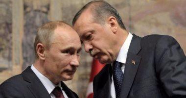 """""""أردوغان"""" يبلغ """"بوتين"""" هاتفيًا بحادث اغتيال السفير الروسى فى أنقرة"""