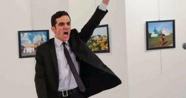 إعلام تركيا يفجر مفاجأة..قاتل سفير روسيا تولى حراسة السفارة الأسبوع الماضى