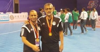 منتخب الصالات يواجه محترفى الدورى الفرنسى فى دورة المغرب