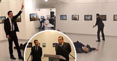 """""""مقتل السفير الروسى بتركيا"""" يتصدر تويتر..والمغردون يتوقعون حرب عالمية ثالثة"""