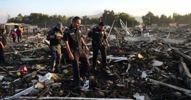 انفجار بالمكسيك - أرشيفية