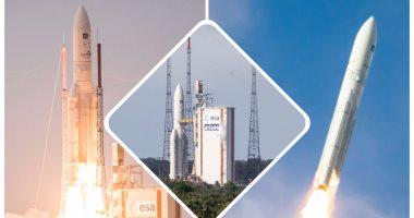 """إطلاق صاروخ فضائى يحمل قمرين صناعيين فى""""غيانا"""" الفرنسية"""