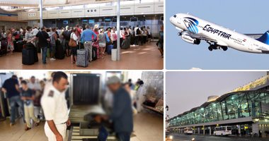 وفد بريطانى يتفقد الإجراءات الأمنية بمطار القاهرة