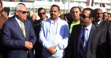 """بالصور.. أهالى بورسعيد يستقبلون ماراثون """"مستقبل"""" وطن بهتاف """"تحيا مصر"""""""