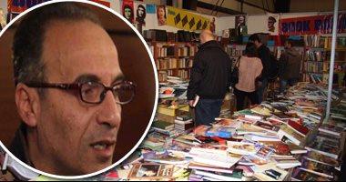 كشك بسور الأزبكية يبيع إصدارت هيئة الكتاب بـ 5 أضعاف ثمنها