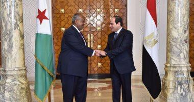 رئيس جيبوتى يصل القاهرة للمشاركة فى قمة الرؤساء الأفارقة