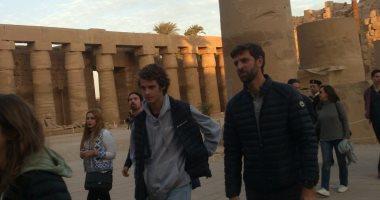 معابد الأقصر تستقبل 16779 سائحا مصريا وأجنبيا خلال 24 ساعة