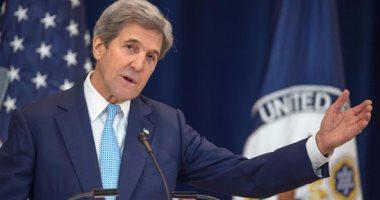 كيرى يحذر الكونجرس من رفض الاتفاق النووى مع إيران