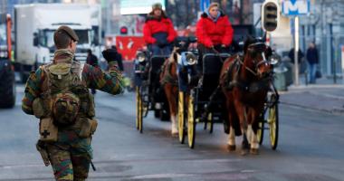الشرطة البلجيكية تفتش منازل ببروكسل فى إطار تحقيق عن متشددين