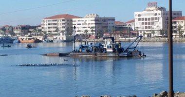 استمرار إغلاق بوغاز رشيد وتوقف حركة الصيد بالبحيرة بسبب سوء الأحوال الجوية