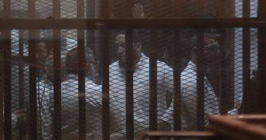 """""""الجنايات"""" تواصل اليوم سماع مرافعة الدفاع فى محاكمة 215 متهما بـ""""كتائب حلوان"""""""