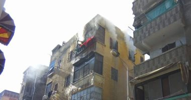 تحقيقات حريق داخل شقة سكنية فى مصر القديمة: ماس كهربائى السبب