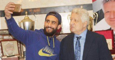 مرتضى منصور يتابع حضور وانصراف باسم مرسى فى مران ناشئ الزمالك