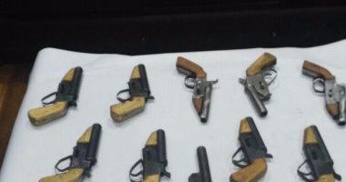 استمرار حبس حداد لاتهامه بتصنيع أسلحة خرطوش داخل منزله فى أوسيم
