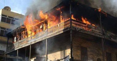 مصرع مزارع وابنته فى حريق منزلهما بسبب إشعال النار للتدفئة بالقليوبية