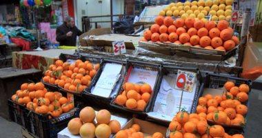 تعرف على أسعار الفاكهة اليوم بسوق العبور