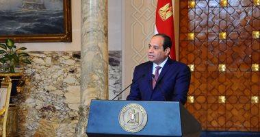 الرئيس السيسى يبحث مع قيادات الدولة الأوضاع الأمنية الراهنة