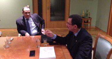 أحمد درويش من ألمانيا: الألمان يرحبون بالتعاون مع مصر فى الصناعات الثقيلة