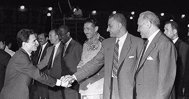 ذات يوم 10 يناير 1960.. عبدالحليم يغنى «حكاية شعب» فى افتتاح «السد»