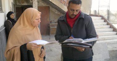الرقابة الإدارية ترصد مخالفات داخل المنشآت الحكومية بقرية سدمنت الجبل
